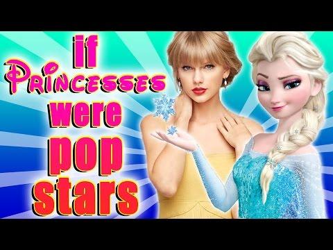 if Disney Princesses Were Pop