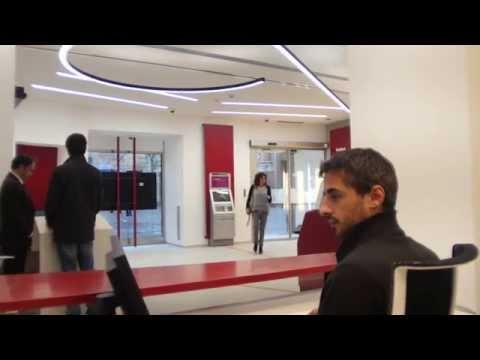 Siena Piazza Tolomei: filiale rinnovata, concentrato di tecnologia