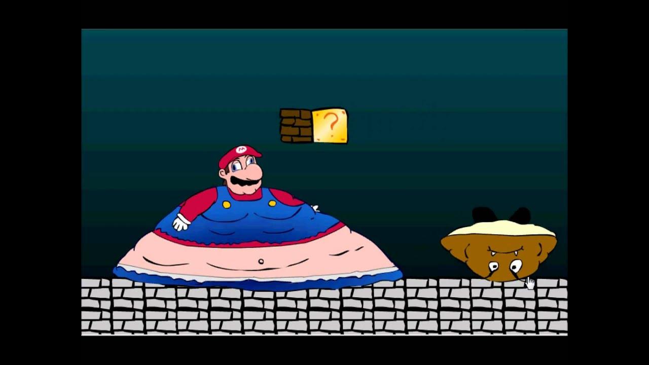 Fat Mario vs Fat Sonic Super Fat Mario Game xd