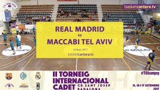 Реал Мадрид до 16 : Маккаби Т-А до 16