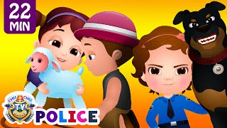 ChuChu TV Police Chase Thief in Police Car to Save Mary