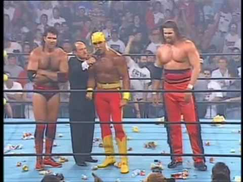 Hulk Hogan Turns Heel and Joins The Outsiders - World Championship Wrestling