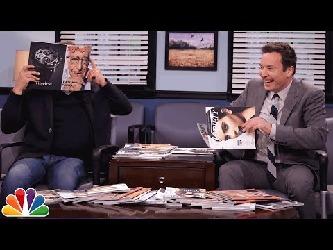 Magazine Cover Talk with Billy Crystal