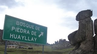 A PLACE TO VISIT IN PERU (THE FOREST OF STONES - HUAYLLAY - PASCO-PERU)