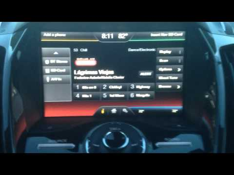 My Ford Touch Review - how to use - tutorial of the basic functions