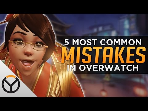 Overwatch: Top 5 Mistakes EVERYONE Still Makes