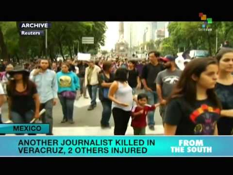 Mexico: Another Journalist Dead in Veracruz