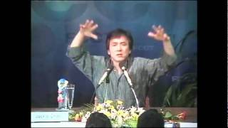 Jackie Chan at FCCT facilitated by the International Peace Foundation, part 2