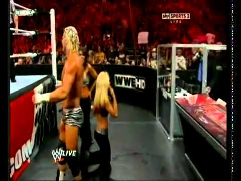 WWE Raw Trish Stratus Returns 2011