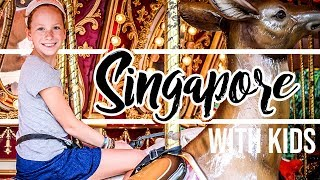 What We Did In Singapore With Kids - Family Travel Vlog