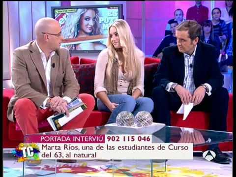 Tal Cual - Marta Ríos recupera su tanga