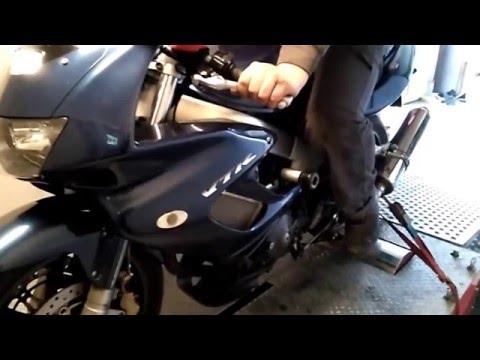 Honda VTR 1000 Full Dyno Test