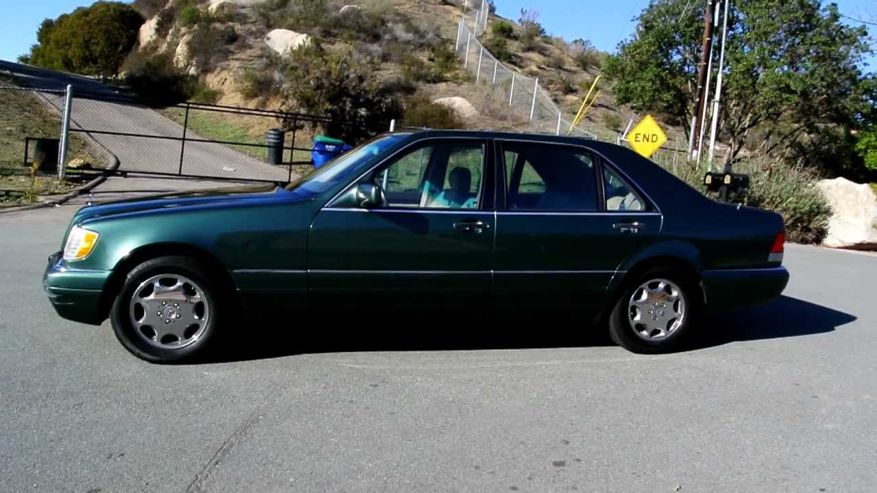 1995 mercedes benz s420 w140 1 owner s class big body for 1995 mercedes benz s420
