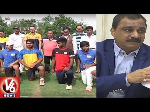 HCA Vice President Anil Kumar Slams Shesha Narayana Over Players Selection | Hyderabad | V6 News