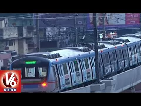 Ameerpet-LB Nagar Metro Likely To Start After 15th September | Hyderabad | V6 News