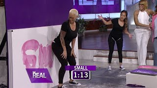 Download Amber Rose Plays a Game of Butt What? 3Gp Mp4
