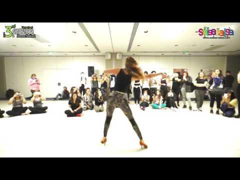 Alina Mihai Salsa Lady Styling Workshop Demo | AIDC-2015