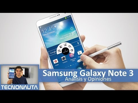 Samsung Galaxy Note 3 Review (en Español)