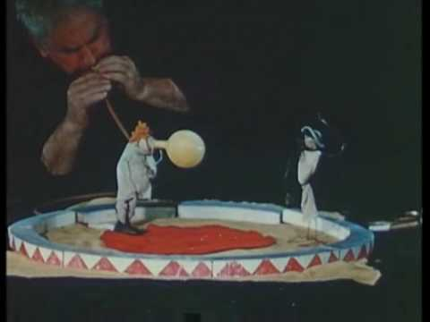 "Alexander Calder performs his ""Circus"" - Whitney Museum"