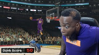 NBA All-Star Dunk Contest | I Dunked Over A Motorcycle! NBA 2K19 MyCareer Ep 30