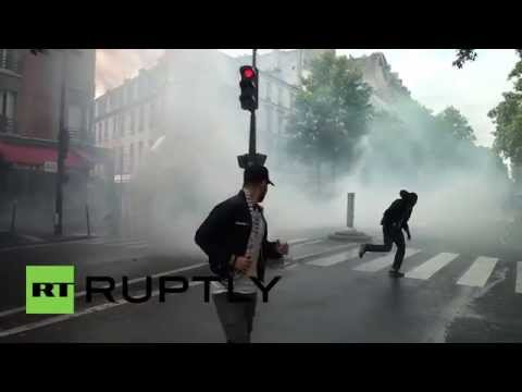 France: Palestine demo clashes outside synagogue