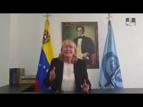 """Luisa Ortega Díaz invitó a no convalidar lo que califica como """"la farsa electoral"""" del 20M."""