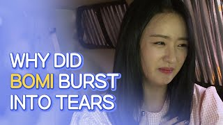 Why Did APINK BOMI Burst Into Tears?  ENG SUB • dingo kdrama