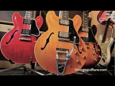 Gibson ES-335 1959 & 1962 Vintage Guitars / New Kings Road Guitars / Vintage & RareTv