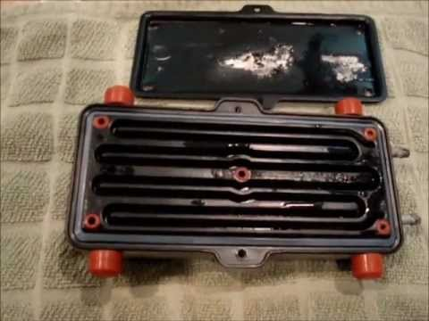 Bissell Proheat steam cleaner handle disassembly and heater core cleaning