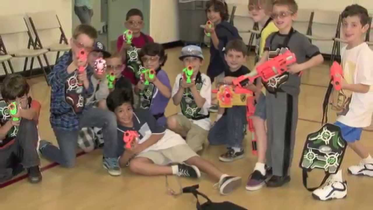 Nerf Gun Dart Tag Ultimate Kids Birthday Party Youtube