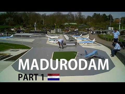 HOLLAND: Madurodam (part 1) miniature city [HD]