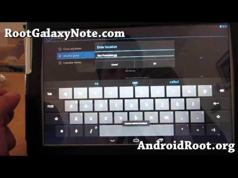 CM10.1 ROM for Rooted Galaxy Note 10.1! [GT-N8000/GT-N8013][Android 4.2.1]