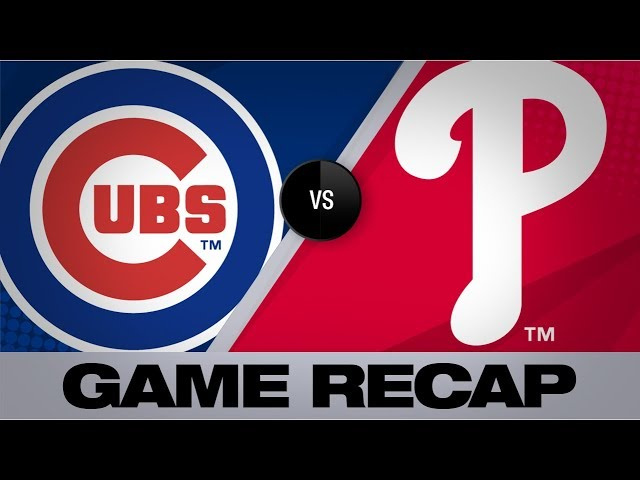 Harper's walk-off grand slam caps comeback   Cubs-Phillies Game Highlights 8/15/19 thumbnail