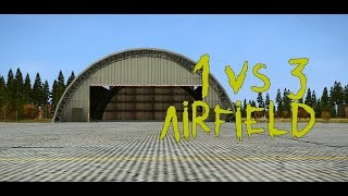 DayZ Standalone - 1 VS 3 AIRFIELD PVP