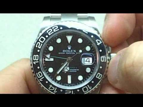 Rolex GMT Master II Ceramic Video Review