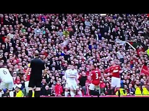 Rio Ferdinand's goal on Sir Alex Ferguson's last match