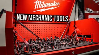 LOTS OF NEW MILWAUKEE MECHANIC TOOLS THAT YOU'VE NEVER SEEN BEFORE!