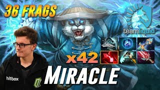 Miracle Storm Spirit x42 Bloodstone 36 Frags - Dota 2 Pro MMR Gameplay