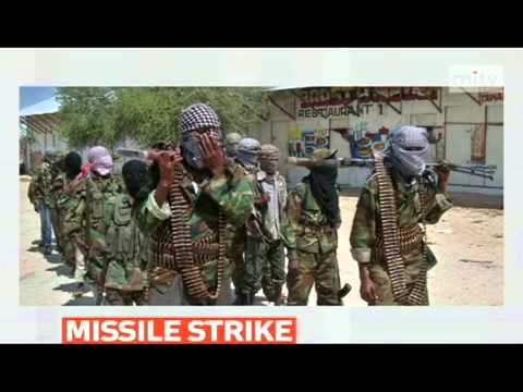 mitv - US military launche missile strike against Shebab leader in Somalia