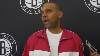 Jared Dudley Meets the Media