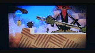 Little Big Planet gameplay Demo (PSP)