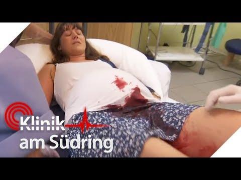 Schwangere blutet untenrum stark: Stirbt das Baby? | Klinik am Südring | SAT.1 TV