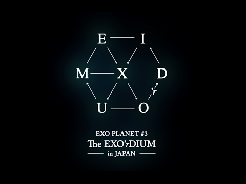 EXO PLANET #3 - The EXO'rDIUM in JAPANのDVDが発売になります
