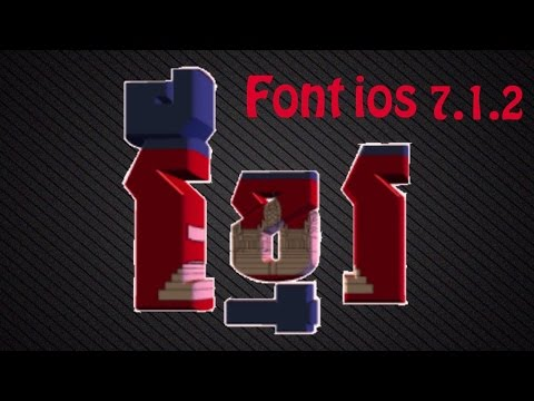 Install Font Khmer For Ios 7.1.x And Ios 8 video