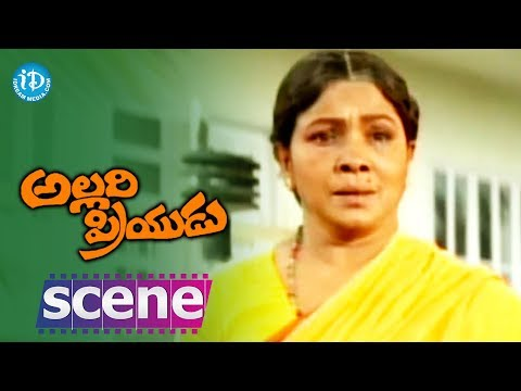 Allari Priyudu Movie Scenes - Rajashekar reveals the truth to...