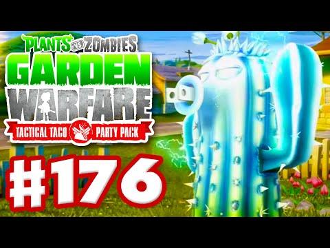 Plants Vs. Zombies  Garden Warfare   Gameplay Walkthrough Part 176   Solo Power Cactus Attempt