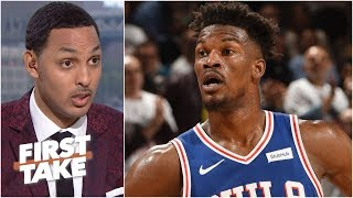 Jimmy Butler not going to the Houston Rockets is ridiculous – Ryan Hollins | First Take
