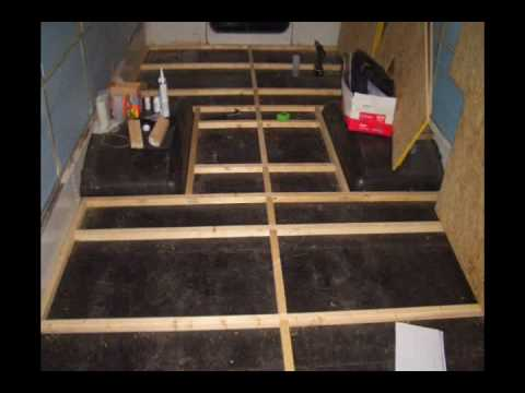 The Bus Project Part 3 Insulation And Flooring YouTube
