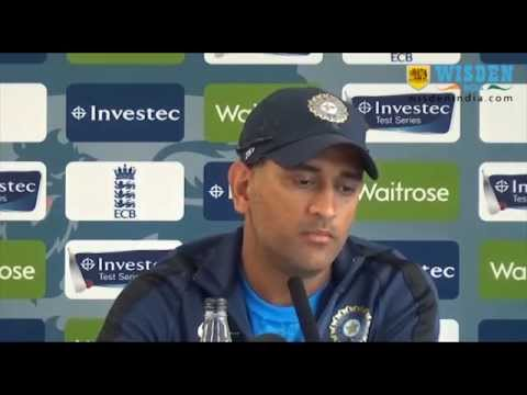 MS Dhoni pre-match PC, 4th Test, Manchester