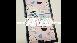 Target Dollar Spot Crafts: Travelers Notebook featuring BE MINE collection